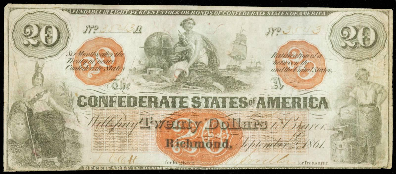 Values of Old Confederate Money | Paper Money Buyers